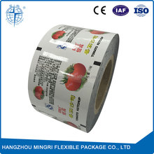 Special Printed Laminated Food Packaging Plastic Roll Film for Ketchup