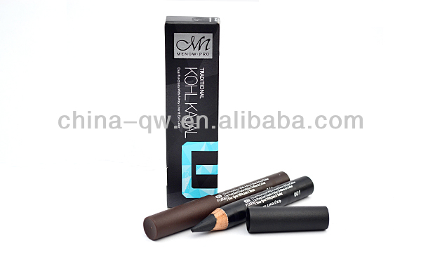 Menow P13006 make up wooden kohl pencil in special mould
