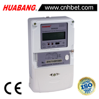 Tamper prevent long terminal single phase static kwh meter
