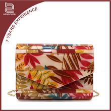 Handcee korea fashion ladies pvc handbag for trendy women