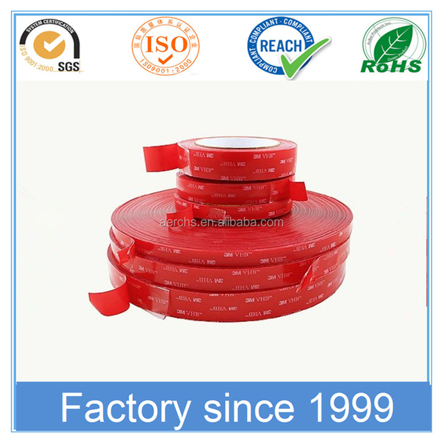 Super Strong Bonding Double Face Adhesive VHB Acrylic Foam Tape