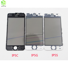 front outer screen glass+frame+oca replacement for iphone 5 6s plus