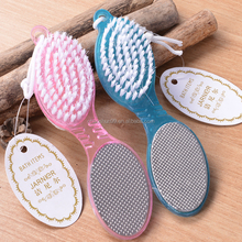 4-in-1 foot brush foot file with pumice stone