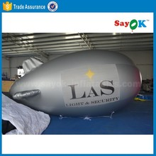 inflatable blimp shape balloon helium filled airplane balloon advertising