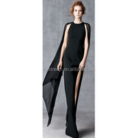2016 the hot style of chiffon sleeveless and grace simple bandage dress with factory price