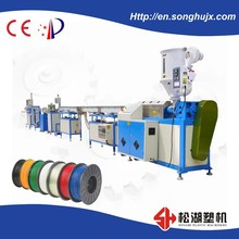 3D PRINTER ROD EXTRUSION LINE, ABS FILAMENT EXTRUSION ,PLASTIC FILAMENT EXTRUDER MACHINE