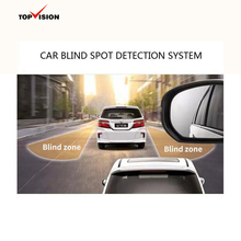 2 warning LED display parking sensor system car blind spot monitor assist system blind spot detection system