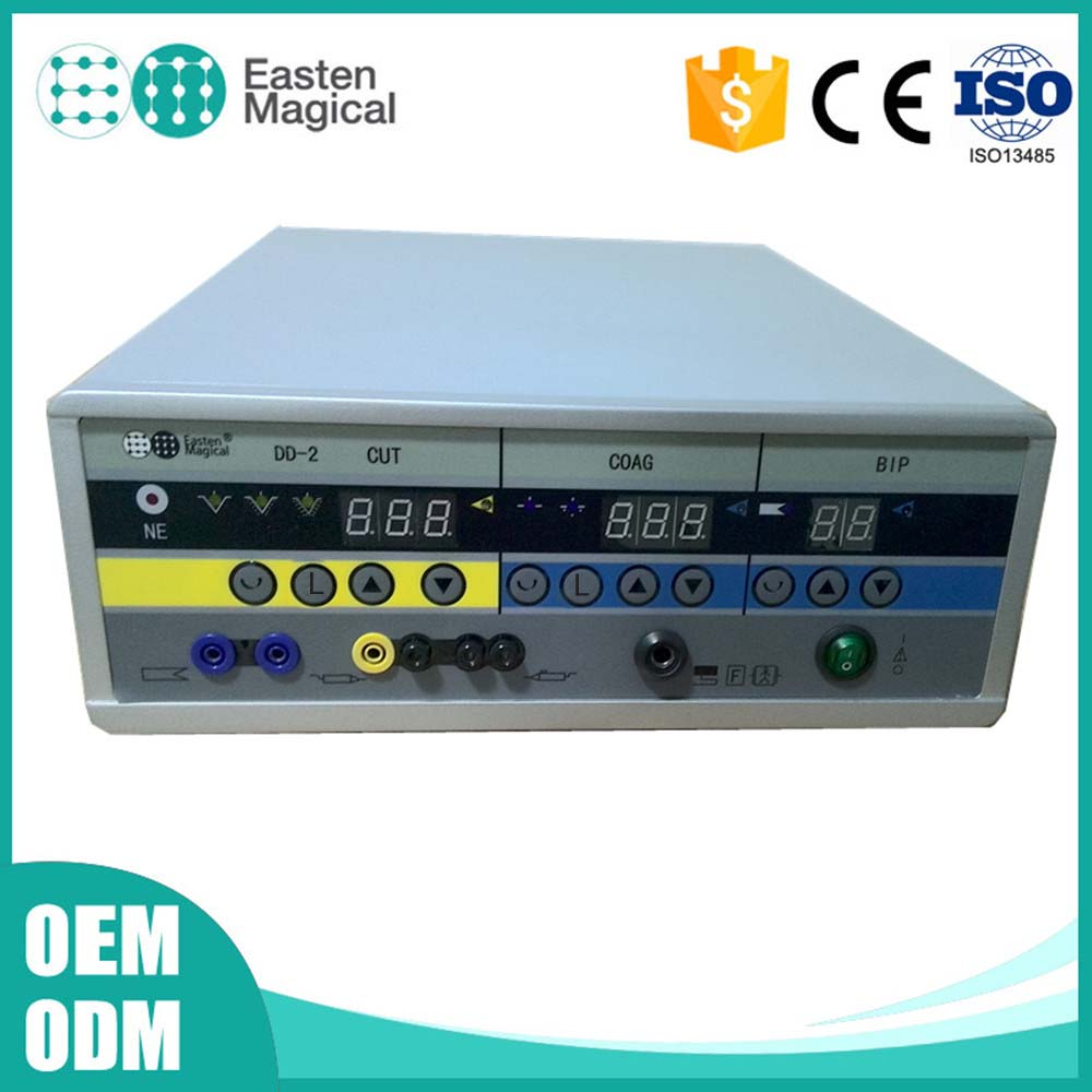 CE Approved Diathermy Electrosurgical Machine with Endo cut / coag