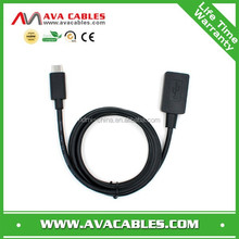 USB TYPE C TO USB 3.0 femal cable with shielding