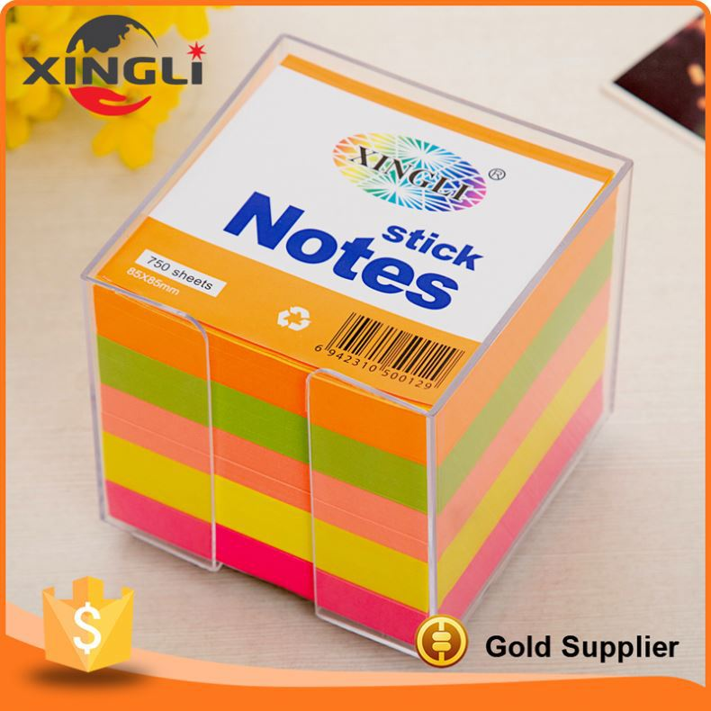 Good quality cute office and school sticky note pad