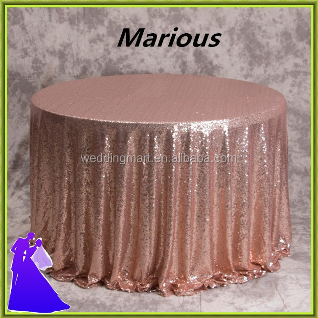 Factory Supply high quality satin wedding table cloth for sale of Bottom Price