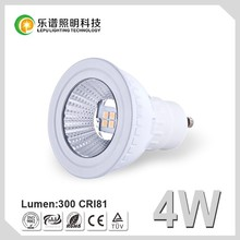 Hot Sale 4W LED Spotlight GU10 Bulb Dimmable LED Spot Light