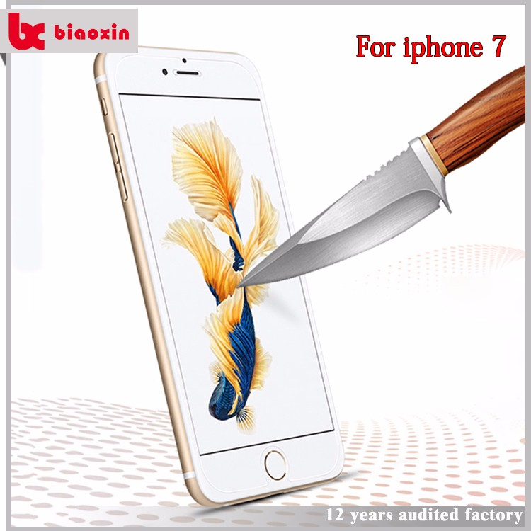 Gold supplier for iPhone 7 case and screen protector
