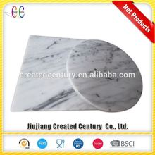 Specializing in the production carrara white marble plates marble cheese plate