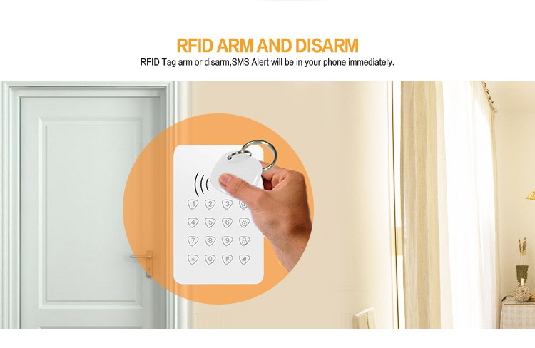 Wireless GSM 3G GPRS Netowrk Anti-theft Security Alarm System for House/Office/School/Factory Safety