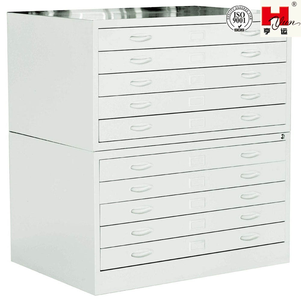 Double Office Document Sorting Drawer Cabinet