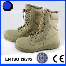 2015 new lace-up desert military boot/combat shoe