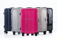 2016 Best selling abs polo trolley luggage with hard shell trolley for wholesale