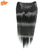 Wholesale popular with competitive price 22 inch human hair extensions clip in