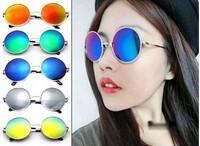 New Vintage Round lens Sunglasses Men/women Polarized Retro Coating Sun Glasses Round