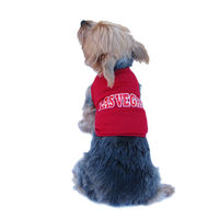 "Dog Red Las Vegas"" T-shirts Pet summer Jersey"