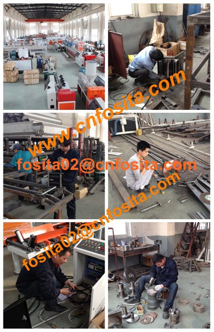 pvc electric conduit pipe making extrusion machine