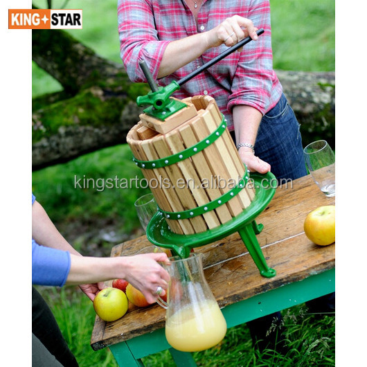 12L wooden apple press
