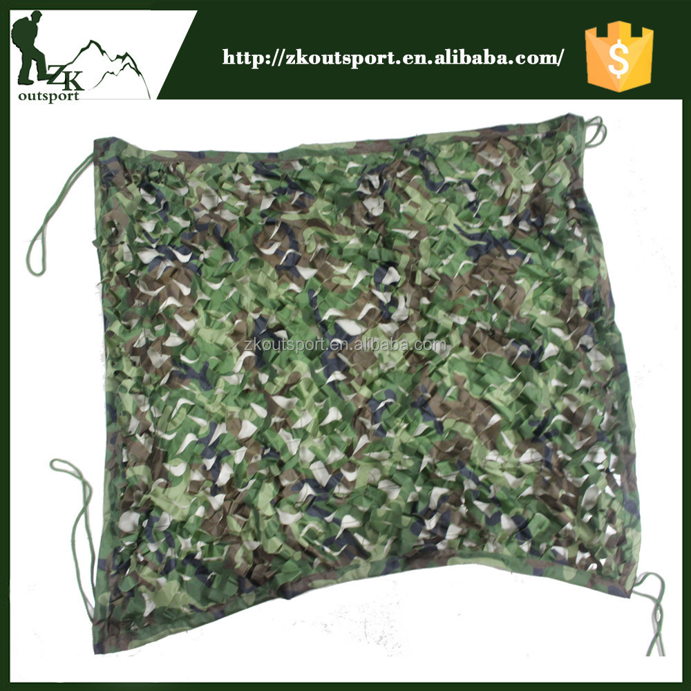Custom design outdoor lightweight military hunting camouflage net