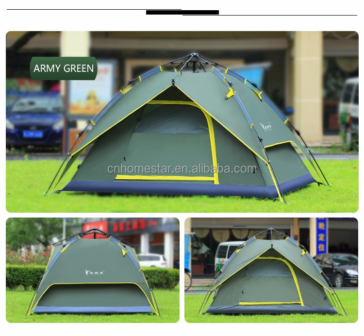 automatic outdoor pop up fishing shelter sun shelter for 4 persons