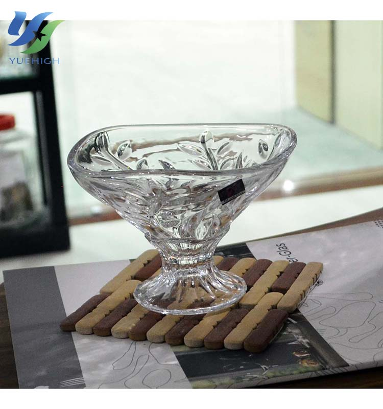 Crystal Glass Bowl personalized wholesale Sundae Glass Ice Cream Bowl