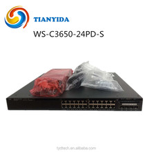 WS-C3650-24PD-S cisco 3650 24 port network switch