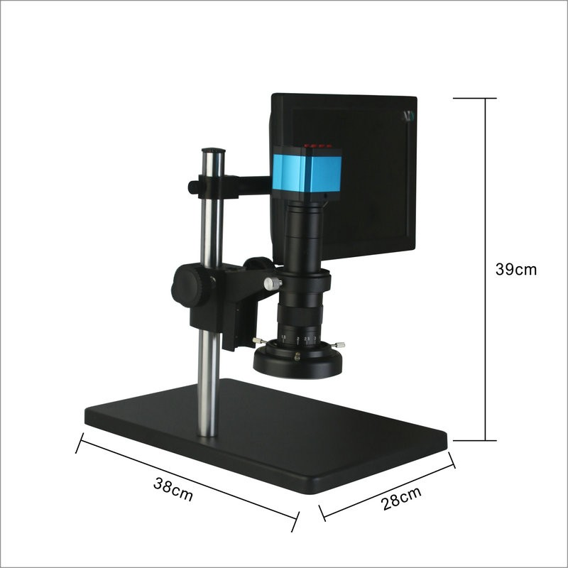 Wholesale Price 10 Inch HD LCD Display Electron HDMI Optical Microscope With Led Light