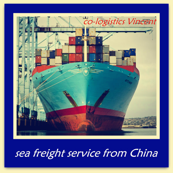 container sea freight from china to Cebu -Vincent