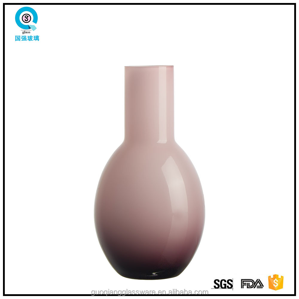 Light purple color modern flower vases for wedding table decorations