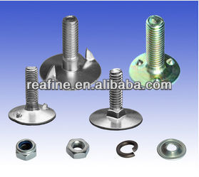 various types of elevator buckets bolts/fang bolts/tooth bolts