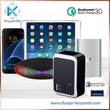 9V 2A phone accessories mobile wall charger, 23W Qualcomm usb charger station fast charger