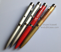 Led light up projector pens,Advertising ballpoint pen,Promotion pen