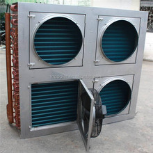 High quality liquid to air heat exchanger with fan for refineries