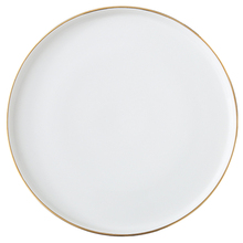 ceramic dessert <strong>plate</strong> with gold rim ,Dinner Set with golden edge