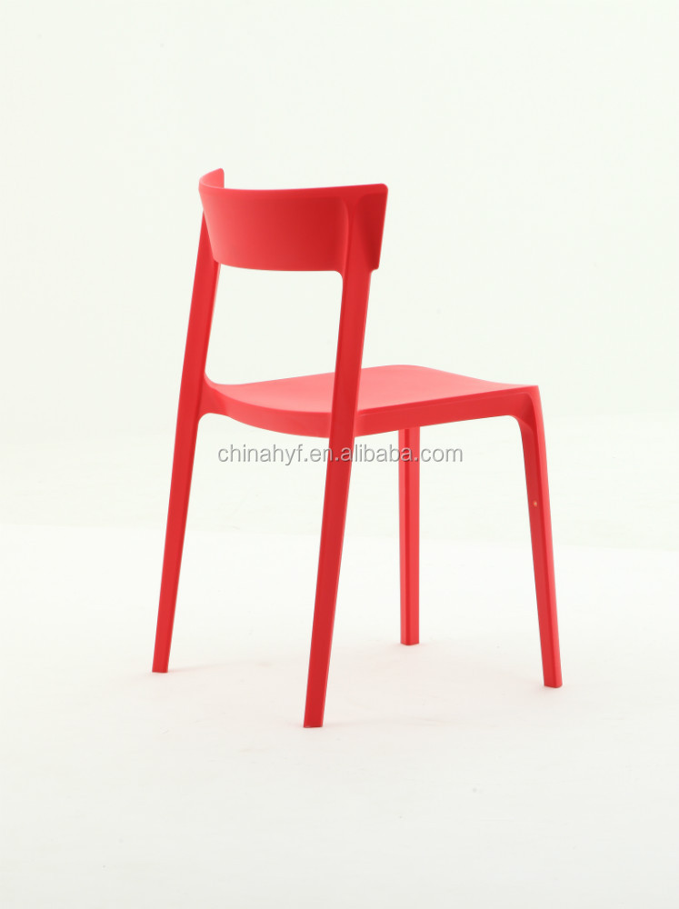 Alta calidad moderna silla de pl stico comedor pp 148a for Sillas comedor plastico