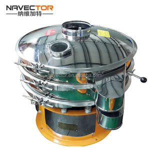 Ultrasonic separating sieving vibrating screening machine for powder