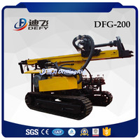 DFG-200 bore pile drilling machine for rock blast hole drilling
