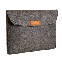 Handeamde Gray 13 Inch Felt laptop sleeve case bag for 13 inch MacBook Air Pro Retina