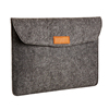 Handmade Gray 13 Inch Felt laptop sleeve case bag for 13 inch MacBook Air Pro Retina