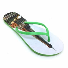 Fashion flat hot selling pe material popular shoes women flip flops with factory direct sale price pretty slipper sandals