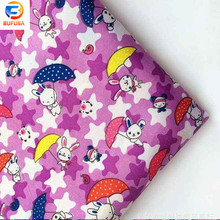 hot lovely cartoon bed sheet 100% polyester panel printing bed sheet