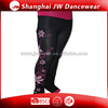 Sports Ice Skating Dance Training Pants With Pattern