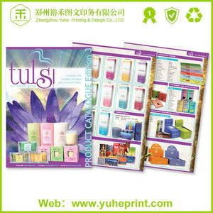 China best price manufacturer customized offset printing hot stamping sewing binding spare parts catalogue software