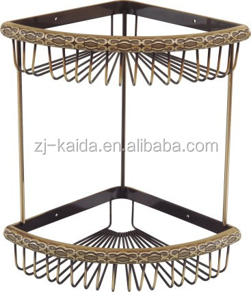 Antique Bronze Effect Brass Towel Rail