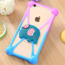 Factory Direct Universal Mobile Cover Cellphone Cover with Cartoon Holder